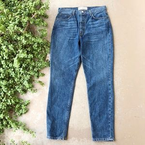Reformation Julia High Cigarette Jean in Baltic